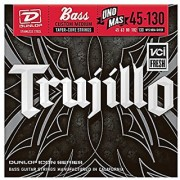 Dunlop RTT45130T Robert Trujillo Icon Series Signature Bass Strings w/Tapered Core Medium .045-.130 5 Strings/Set