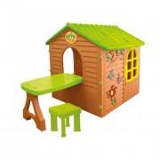Kerti gyerek játékház MARIMEX - színes