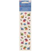 Mrs. Grossman's Regular Sticker Packs (Petite Snails & Mushrooms)