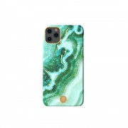 KINGXBAR Jade Style Stone Series PC Protective Case Covering for iPhone 11 6.1 inch - Style A
