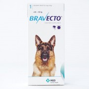Bravecto 1000mg for Large Dogs 20-40kg (44-88lbs)