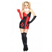 Kostým Super Villian Harley Quinn Batman - Veľkosť XS