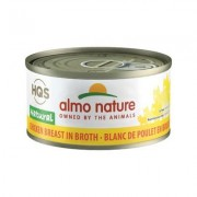 Almo Nature Natural Chicken Breast in Broth Grain-Free Canned Cat Food, 2.47-oz, case of 24