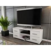 ASKO - NÁBYTEK TV stolek Oskar TV, bílý, 120 cm
