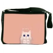 I Am Lovely Designer Laptop Messenger Bag
