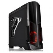 Кутия Thermaltake Versa N21, ATX/Micro ATX, USB 3.0, черна, прозорец, без захранване