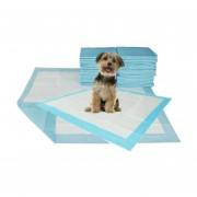 """Pack de 100 Toallas sanitarias de entrenamiento para mascotas talla """"S"""" 35 por 45 Para Perros y mascotas"""