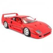 Метална количка, Bburago Ferrari - модел на кола 1:24 - F40, 0939111