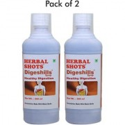 Digestive syrup after food digestion aid natural syrup for all-500ml flavoured ready to drink shots - Combo pack