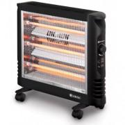 Лъчист конвектор Rohnson R-8017, 3 топлинни настройки (800 W 1600 W, 2400 W), Регулируем термостат