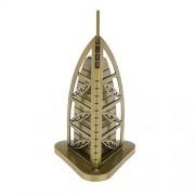 Magideal Vintage Home Decor Burj Al Arab Model Metal Crafts Furnishing Articles 15CM