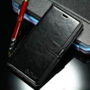 Кожен калъф за Huawei P9 Lite - черен