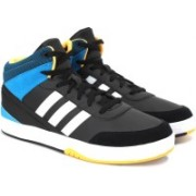 ADIDAS NEO PARK ST KFLIP MID Mid Ankle Sneakers For Men(Black, Blue)