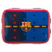 Barcelona Lunchtrommel Logo - Navy/Blauw/Rood