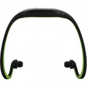 APG Sports Digital Music Player -Sh-W1 (Black and Green)