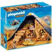 Комплект Плеймобил - Пирамида на фараон, Pharaohs Pyramid 5386, Playmobil, 2900065