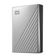 "HDD Extern Western Digital My Passport ULTRA, 4TB, 2.5"", USB 3.1 (Argintiu)"