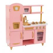 Bucatarie pentru copii Limited Edition Vintage Pink & Gold - KidKraft