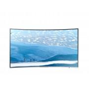 "Samsung Tv 65"" Samsung Ue65ku6500 Led Serie 6 Curvo 4k Ultra Hd Smart Wifi 1600 Pqi Hdmi Usb Silver Refurbished Senza Base Con Staffa A Muro"