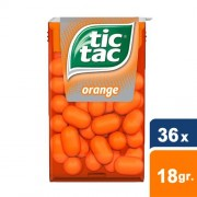 Tic Tac - Fresh Orange - 36x 18gr