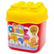 Clemmy - Set 20 Cuburi In Cutie.Cuburi moi placut mirositoare.Varsta recomandata 6luni+