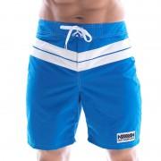 MIIW Physique Stripe Boardshorts Beachwear Royal Blue 4706-18