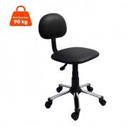 Cadeira de Escritório Secretária Direction Ajustável Preta