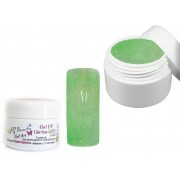 Gel Uv Unghie Colorato Neon Glitter 02 Verde