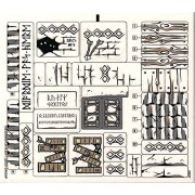 """Stickers - The Lord of the Rings Lego Original Sticker Sheet for The Lord of the Rings Set #9473 """"The Mines of Moria"""""""