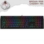 Ducky Shine 7 Blackout Геймърска механична клавиатура с Cherry MX Brown суичове