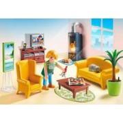 Playmobil Sala de Estar con Fuego