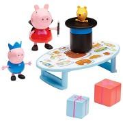 Peppa Pig - Bűvész készlet + 2 figura