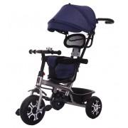 Tricikl za decu sa tendom teget plavi (Bj0077 teget plavi)