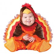 In Character Costumes 198726 Lil Gobbler Infant- Toddler Costume Size: 18 Months/2T