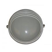 Lampa exterior rotunda cu umbrar 1xE27 60W ALB