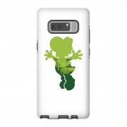Nintendo Funda móvil Nintendo Super Mario Silueta Yoshi para iPhone y Android - Samsung Note 8 - Carcasa doble capa - Brillante