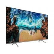 Samsung UE65NU8009 LED-TV 163 cm 65 inch Energielabel A+ Twin DVB-T2/C/S2, UHD, Smart TV, WiFi, PVR ready Zwart, Zilver