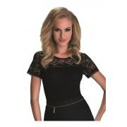 Lana női trikó, fekete XL