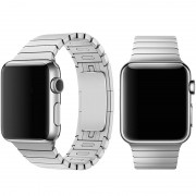 Devia Řemínek pro Apple Watch 38mm / 40mm - Devia, LinkBracelet Silver