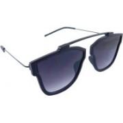 Els Retro Square Sunglasses(Blue)