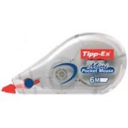 Tipp-Ex Corrector frontal Tipp-Ex Mini Pocket Mouse 5mm (a) x 6m (l)