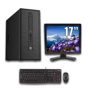 HP Elite 800 G1 Tower - Intel Core i7 - 4GB - 500GB HDD + 17'' LCD