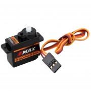 ELENXS EMax ES08A II 9Gram Mini Micro Servo alta sensible para las piezas 3D RC Plane eléctricos