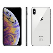 Apple iPhone XS 256GB Dual sim (nano-SIM & eSIM) A1920 With Generic Tempered Glass Screen Protector- Silver