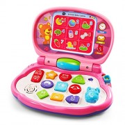 VTech 80-191250 Brilliant Baby Laptop Pink Toy