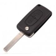 Carcasa cheie briceag Peugeot 207 307 308 407 807/fara suport de baterie