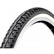 Cauciuc bicicleta 28x1.75 (47-622) (700x47C) - Strada - Banda alba - D1006