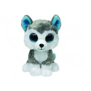 Slush the Grey Dog Medium Beanie Boos by Ty