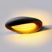 LAMPADA LED 10W BIANCO NATURALE CORPO NERO DA PARETE IP65 VT-811-LED8310