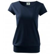 ADLER City Dámské triko 12002 námořní modrá XL